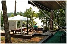 Known as one of the best campgrounds in the state park system, Calhoun Falls State Park has 86 campsites with electric & water hookups.  Camping in South Carolina.