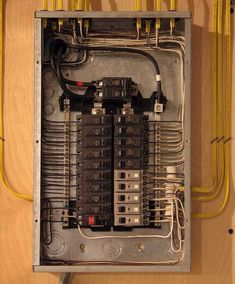 What to do if an electrical breaker keeps tripping in your home now thats one neat electrical panel solutioingenieria Image collections