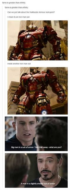 "With the long-awaited release of ""Avengers: Age of Ultron"" later on today at midnight, we figured it'd be fitting to preface the occasion with some priceless fandom humor.That being said, here are some of the best Avengers posts on Tumblr throughout the mounting anticipation."