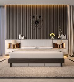 3 Types Of Cool Bedroom Designs Which Use Slats For Accent Walls Decor Ideas