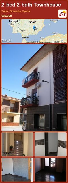 2-bed 2-bath Townhouse in Zujar, Granada, Spain ►€86,000 #PropertyForSaleInSpain