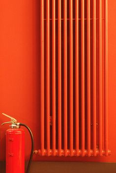 Fire-extinguisher & radiator, Orange County