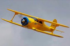 Beautiful example of a Beechcraft Staggerwing.