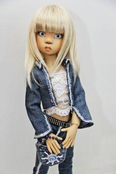 Всем привет!Вот и мои первые девчонки от Кайе Виггз / Куклы Кайе Виггз, Kaye Wiggs dolls / Бэйбики. Куклы фото. Одежда для кукол