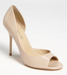 nude bridesmaid shoes - i'm thinking this might be easiest? are there other colors that everyone can easily find or already has?