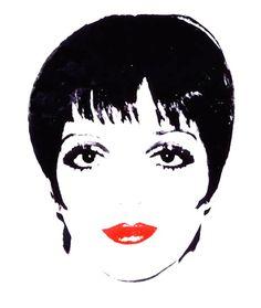 Liza Minnelli - Andy Warhol #popart #classic #vintage #60s #redlips