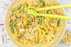 Asian Recipes, Healthy Recipes, Ethnic Recipes, Garlic Parmesan Potatoes, A Food, Good Food, Pasta Salad, Salads, Healthy Eating