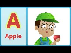 The A Song (Uppercase)   Super Simple ABCs - YouTube