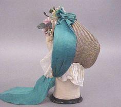 http://thegracefullady.com/civilwargowns/images/originalgarments/bonnets/rosebonnet4.jpg