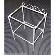 Bedside Table Wrought Iron. Customize Realizations. 887