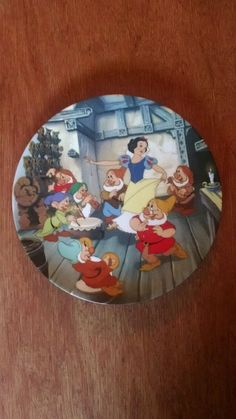 The Dance of Snow White and the Seven Dwarfs Walt Disney's collector plate in Collectibles, Decorative Collectibles, Decorative Collectible Brands   eBay