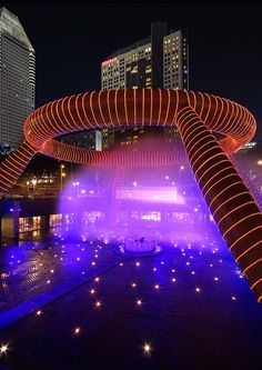 An Aura of Fantasy at the Fountain of Wealth, Suntec City – Singapore by williamcho, via Flickr