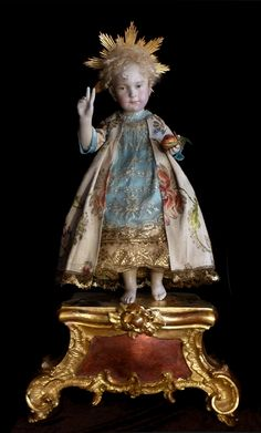 Seelentrosterl ein Original -Brigitte Deval The most beautiful Christ doll.