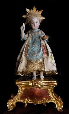 Seelentrosterl ein Original -Brigitte Deval The most beautiful Christ doll.