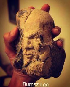 """""""José"""" - Rumsz Lec Sculpture. Cantera tallada.   https://www.facebook.com/Rumsz-Lec-159574767726505/"""