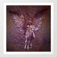 angel16 Art Print by Richard J Wise - $17.68