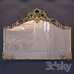 Classic Mirror 3d Mirror, Models, Classic, Home Decor, Templates, Derby, Classic Books, Interior Design, Home Interior Design