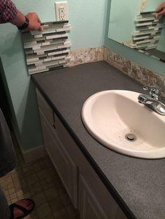 Inexpensive Bathroom Redo