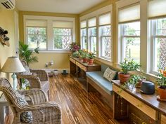 Sunroom Tour From Blog Cabin 2014