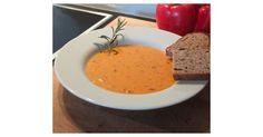 Paprika-Creme-Suppe griechische Art, ein Rezept der Kategorie Suppen. Mehr Thermomix ® Rezepte auf www.rezeptwelt.de