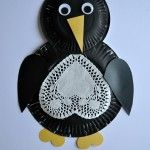 Paper Plate Penguin Craft for Kids