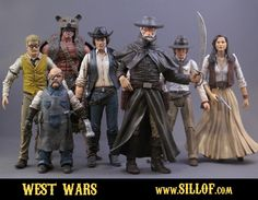 Star Wars as Western   SILLOF's WORKSHOP: featuring the custom action figures and dioramas of Sillof