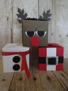 Gift Box Punch Board Characters~