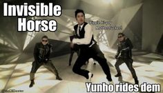 He needs to fix his riding posture.... lol