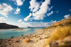 En Crète, le lagon de Balos                              …
