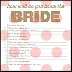 Krafty Contest - Signature White Bridal Shower Games in Watermelon or Smoke | Baumbirdy