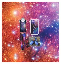 """""""Galaxy Explosion"""" by steph-seagull ❤ liked on Polyvore featuring moda, Ankit, TOMS, galaxy e explosion"""
