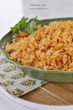 This Mexican Rice is just like they serve in the Mexican restaurants and it is so easy to make at home. We eat a lot of Mexican food at our house. It makes a weekly appearance at our dinner table, sometimes twice.  We also eat a lot of rice at our house, especially with Mexican …