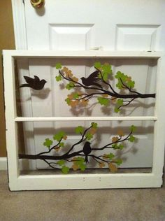 Repurpose a window!!!  Simply Said isn't made for walls only!!! The vinyl letter can be applied to tile, glass, wood, and much more. Design your own or choose from one of Simply Said's phrases!! www.mysimplysaiddesigns.com/1670/