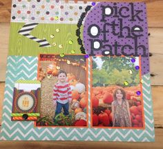 Pick of the Patch Layout by Dee Dee Roe for Front Porch Kit- Boo in a Box