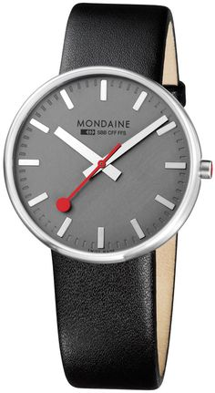 Mondaine Giant A660.30328.15SBB Watch - Limited Edition from Watchismo.com