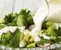 This classic ranch-style dressing is delicious over a variety of salads -- from a simple green salad to taco, spinach or Cobb salads. Add an extra layer of flavor to the dressing by preparing with McCormick® Worcestershire Pepper Blend. Salad Dressing Recipes, Salad Recipes, Healthy Recipes, Salad Dressings, Great Recipes, Favorite Recipes, Yummy Recipes, Sauces, Simple Green Salad