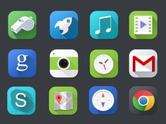 Premium Flat icons Freebie by Zaib Ali (Pakistan) Icon Design, Web Design, Logo Design, Graphic Design, Flat Design, Free Web Icons, Mobile Icon, Simple Icon, Ui Inspiration