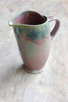 Ceramic Pitcher by JenniferBurkePottery
