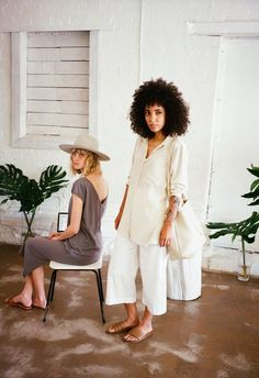 ESBY APPAREL LOOKBOOK SUMMER 2016 PART ONE PHOTOGRAPHED BY KATHERINE SQUIER FEATURING NIKISHA BRUNSON & JULIE WIER