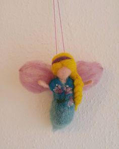 Little fairy #needlefelting #handmade #fairy #wool