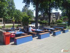 Picknickset DeLuxe Antraciet C16 bij Gymnasium Apeldoorn in Apeldoorn