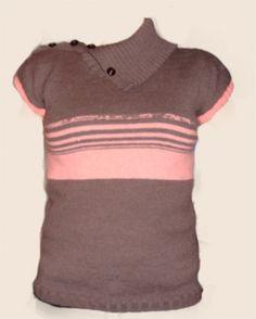 Δείτε πως μπορείτε να πλέξετε πουλόβερ, με φορά απο κάτω προς τα πάνω και με ανοιχτό ζιβάγκο