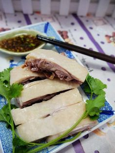 Sliced Boiled Chicken is one of the most common dishes in Cantonese Cuisine and an essential dish in all kinds of feast in Guangdong region.