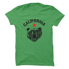 California Republic Bear Shirt Tee T-Shirts, Hoodies. BUY IT NOW ==►…