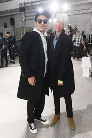Eugene Tong, Kate Lanphear at PUBLIC SCHOOL AUTUMN/WINTER 2016 MEN'S COLLECTION