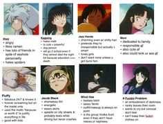 """The write """"fabulous and he know it"""" and put the worst and funny pic of sesshomaru xD omg"""