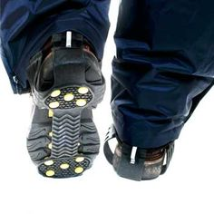 Ice Gripz - over boot ice grips Safety, Ice, Boots, Sneakers, Shopping, Fashion, Security Guard, Crotch Boots, Moda