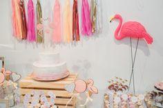 e6acb96f37f Chá de bebê da Clarinha. Flamingo Baby ShowerFlamingo ...