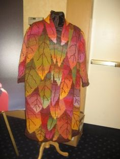 Kaffe Fasset  - Long Leaf Coat -- and I so want to make this one day... probably in a different colorway though.