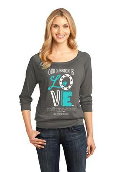 14 year old is selling these awesome sweatshirts and t-shirts to raise money to feed orphaned children in Kenya - Love this design!